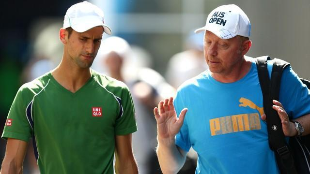 Tennis - Djovokic: Becker hired to improve my mental toughness