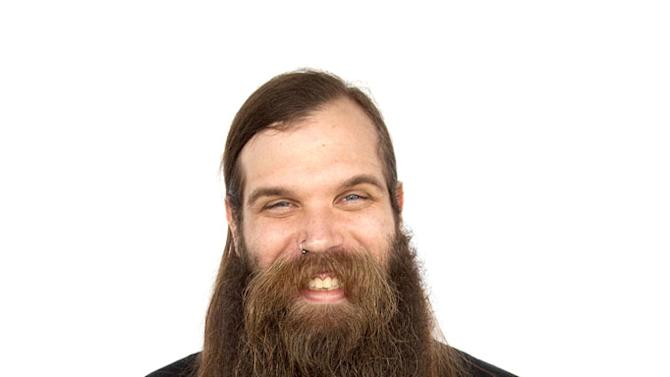 """Myk O'Connor from the Gotham Beard Alliance as seen on """"Whisker Wars."""""""