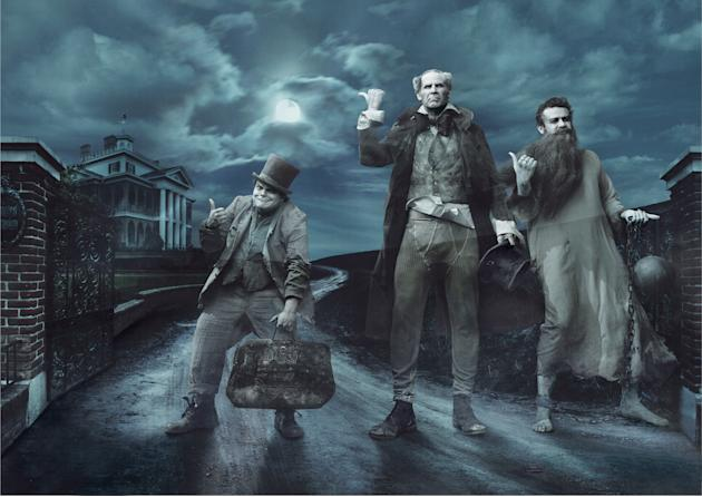 Disney Dreams: Jack Black, Will Ferrell and Jason Segel as the Hitchhiking Ghosts