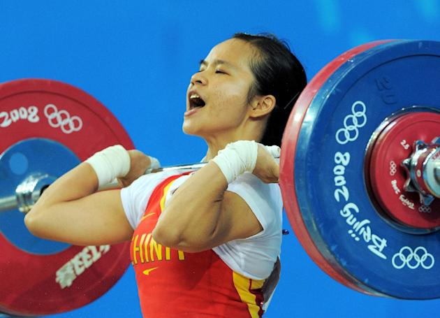 Chen Xiexia is one of three Chinese Olympic champions who failed doping tests in a re-analysis of samples