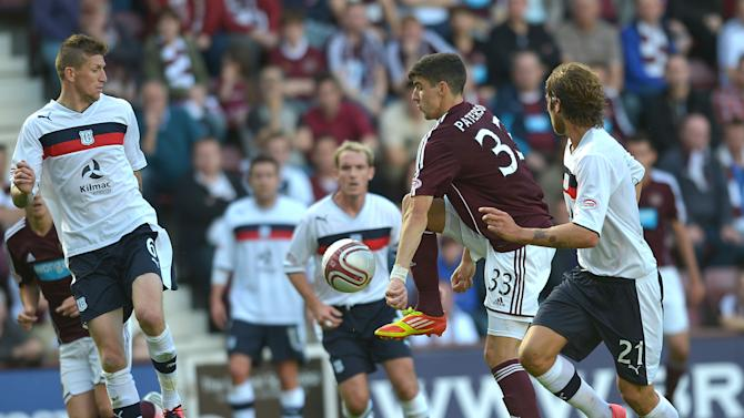 Scottish Premier League Hearts v Dundee