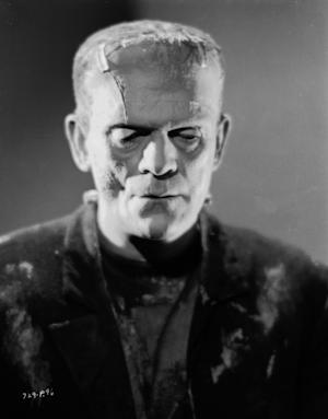 Boris Karloff in 'Bride of Frankenstein,' directed by James Whale, 1935 -- Getty Images