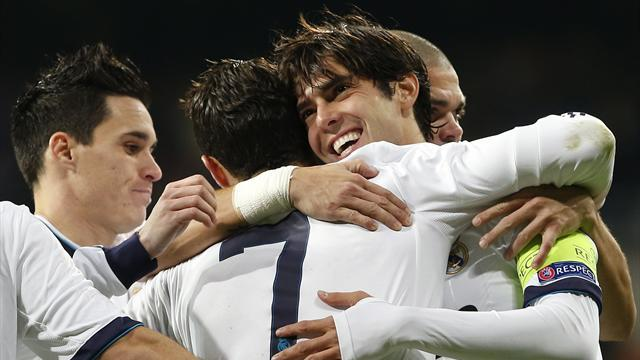 Liga - Kaka coy on Real future