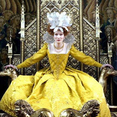Cate Blanchett, anything in Elizabeth: The Golden Age