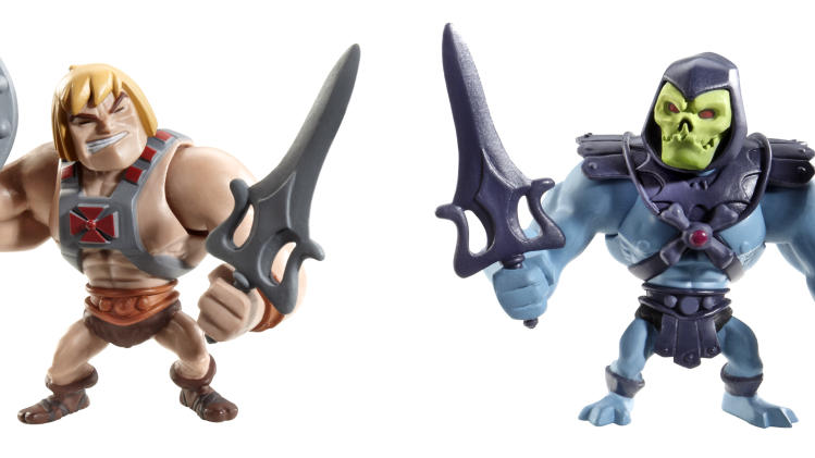 Masters of the Universe Classics Mini He-Man & Skeletor Figures