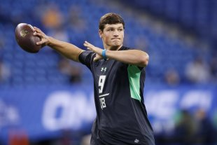 Christian Hackenberg was considered a candidate to be the No. 1 pick in the NFL draft. (Getty Images)