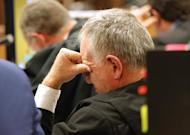 Barry Roux, defence lawyer for Oscar Pistorius, at court in Pretoria on April 14, 2014