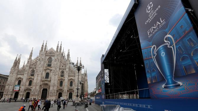 Milan all set for Champions League final
