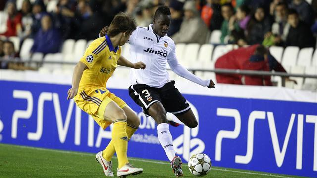 Champions League - Valencia record another comfortable win over BATE