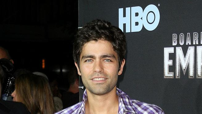 "Adrian Grenier attends the premiere of ""Boardwalk Empire"" at the Ziegfeld Theatre on September 15, 2010, in New York City."