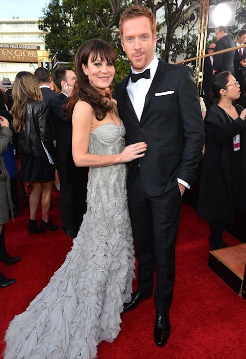 "NBC's ""70th Annual Golden Globe Awards"" - Red Carpet Arrivals: Helen McCrory and Damian Lewis"