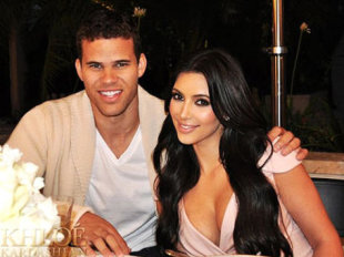 Kris Humphries and Kim Kardashian. Photo: Celebuzz