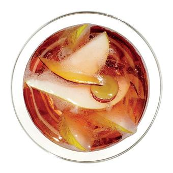 A Festive and Bubbly Rosé Sangria