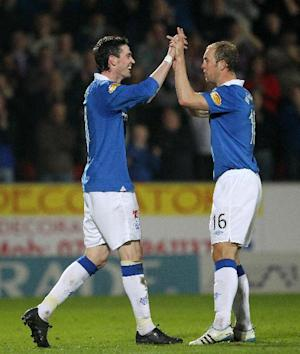 Kyle Lafferty (left) and Steven Whittaker have joined new clubs