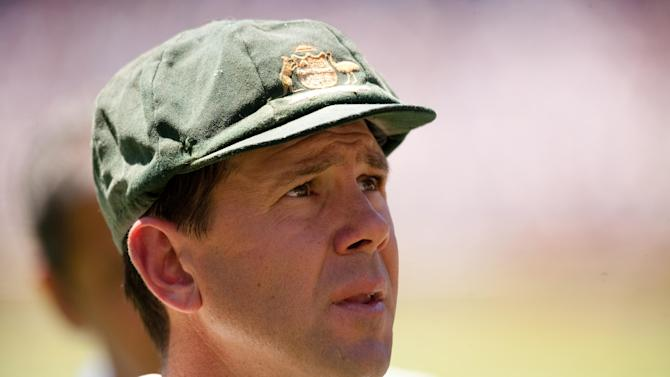 Ricky Ponting's final Test match ended in defeat for Australia