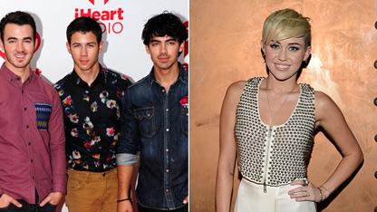 Jonas Bros. Talk Exes Miley & Taylor