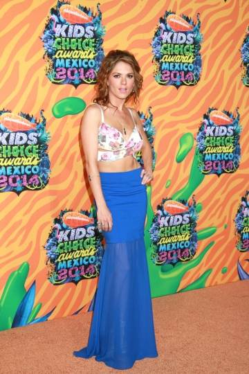 Alfombra Naranja de Kids Choice Awards Mexico 2014