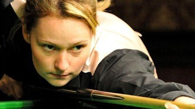 Snooker - Ladies champ Evans ready to make statement at Wuxi Classic