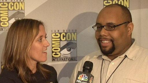 "Adventures of Comic-Con Virgin and the Writers of ""The Office"""