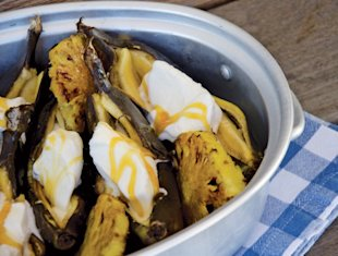 Bryan Habana's braaied banana and pineapple with ice cream recipe, National Braai Day