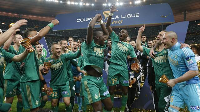 Ligue 1 - St Etienne beat Stade Rennes to win French League Cup