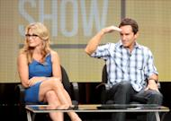 Executive producer Amy Coleman and host/executive producer Jeff Probst speak at the 'The Jeff Probst Show' discussion panel during the CBS portion of the 2012 Summer Television Critics Association tour at the Beverly Hilton Hotel on July 29, 2012 -- Getty Images