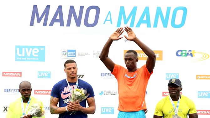 Mano a Mano Athletics Challenge with Usain Bolt