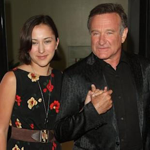 Zelda Williams and Robin Williams -- Getty Images