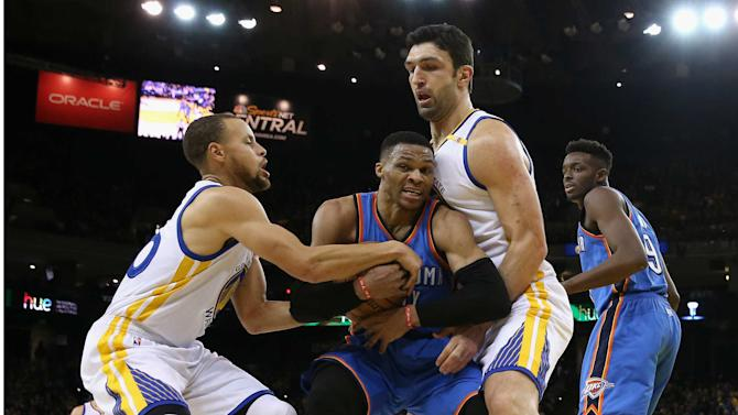 NBA to review Zaza Pachulia-Russell Westbrook incident, report says