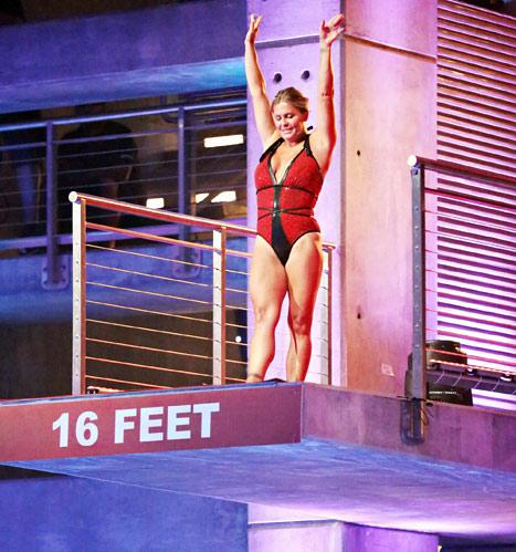 Nicole Eggert Rushed to Hospital After High-Dive Injury on Splash