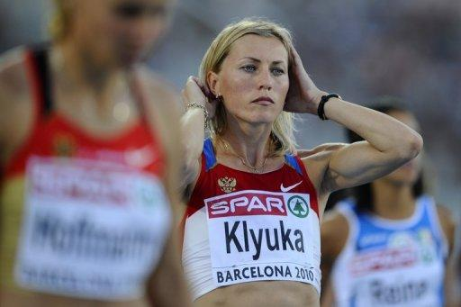 "Svetlana Klyuka and two other Russian runners had ""abnormal indexes in their biometric passports"""