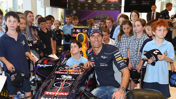 Mark Webber In Melbourne Ahead Of F1 Grand Prix