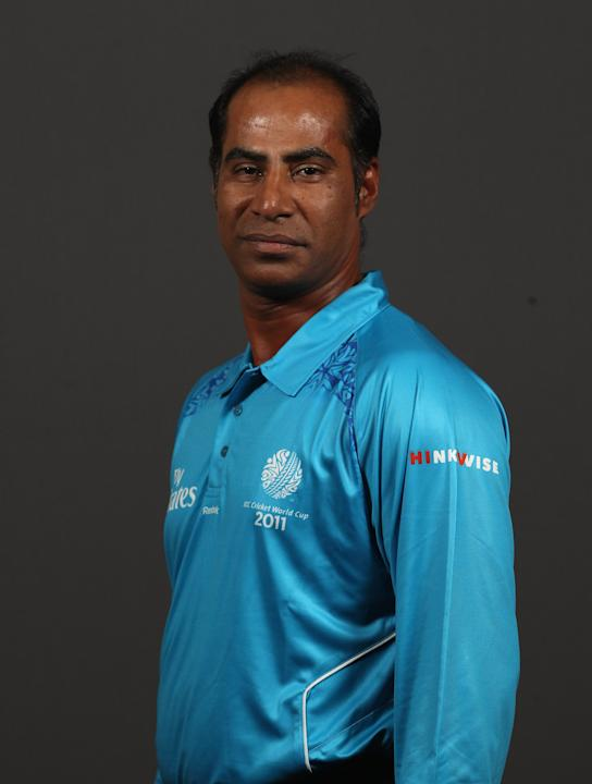 2011 ICC World Cup - Umpire Portrait Session