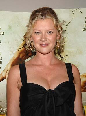 Gretchen Mol at the New York premiere of THINKFilm's The Ten