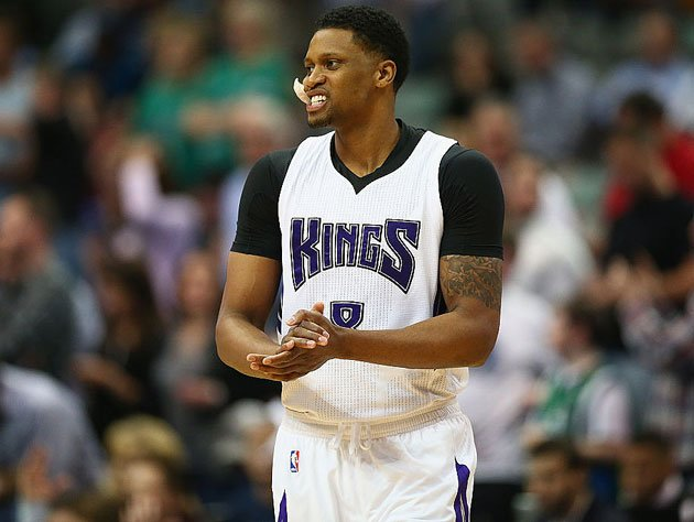Rudy Gay eyes his options. (Getty Images)