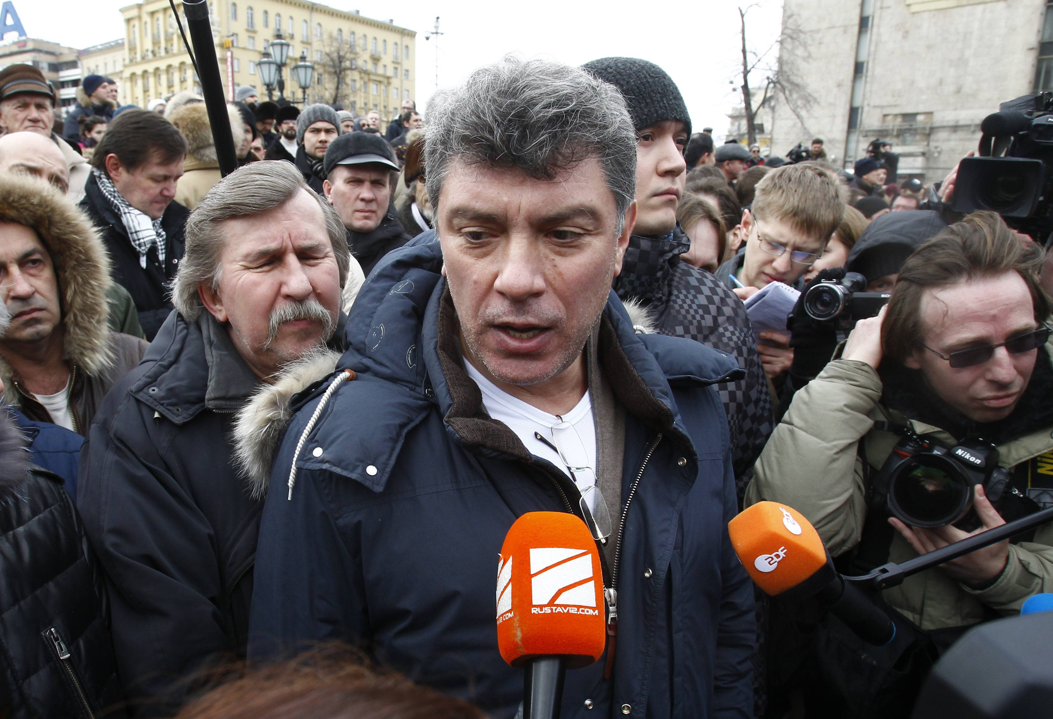 Russian opposition leader Nemtsov shot dead in Moscow