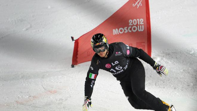 Italian Roland Fischnaller Competes AFP/Getty Images
