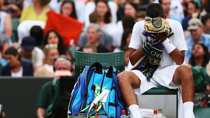 Wimbledon - Raonic ends thrilling run of wild card Kyrgios