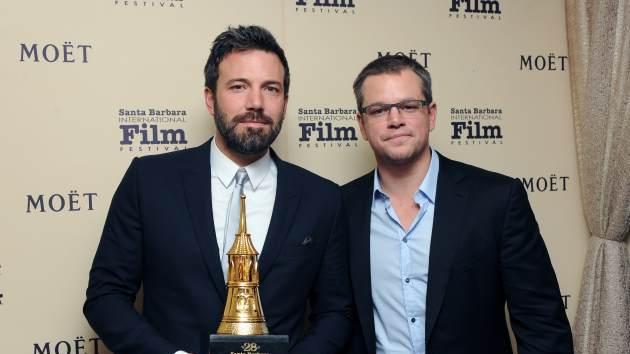 Ben Affleck, Matt Damon -- Getty Premium