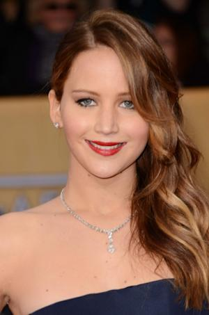 Jennifer Lawrence attends the 19th Annual Screen Actors Guild Awards at The Shrine Auditorium on January 27, 2013 in Los Angeles --