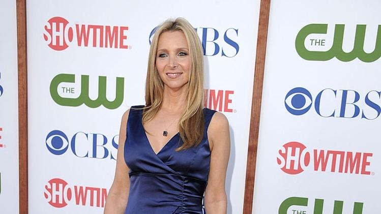 "Lisa Kudrow of ""Web Therapy"" attends the CBS, The CW, and Showtime 2011 Summer TCA Party at The Pagoda on August 3, 2011 in Beverly Hills, California."