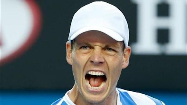 Australian Open 2014, 4th Round, Tomas Berdych (Getty)