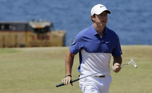 McIlroy ruptures ligament in ankle while playing soccer