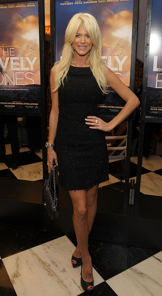 The Lovely Bones NY Premiere 2009 Victoria Silvstedt