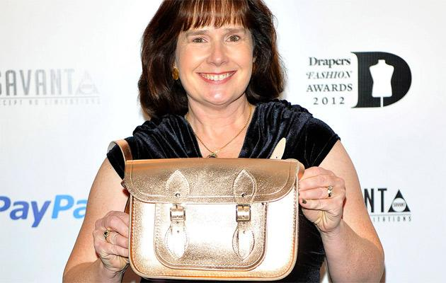 Julie Deane (Cambridge Satchel Company), at the Drapers Fashion Awards at Grosvenor House. London, England - 21.11.12 Mandatory Credit: WENN.com