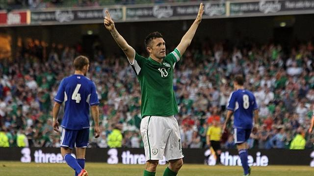 World Cup - Trapattoni lauds goal king Keane