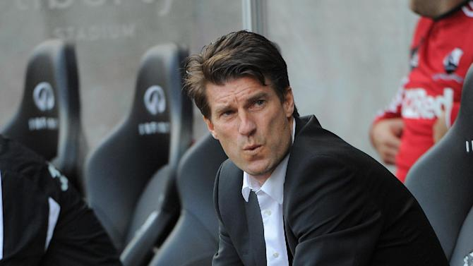 Michael Laudrup described the win over Wigan as 'a mixture of joy and relief'
