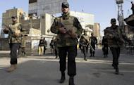 Pakistani police commandos on patrol in Quetta. A French militant described as an Al-Qaeda leader linked to the 9/11 attacks has been captured in Pakistan, experts and a Pakistani official said Wednesday