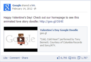 Understand the Power of Valentine's Day Emotions in Your Content Marketing image Screen shot 2013 02 04 at 5.58.30 PM