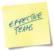"Dealing with Team Members who are ""Off Track"" image Post it Effective Teams"